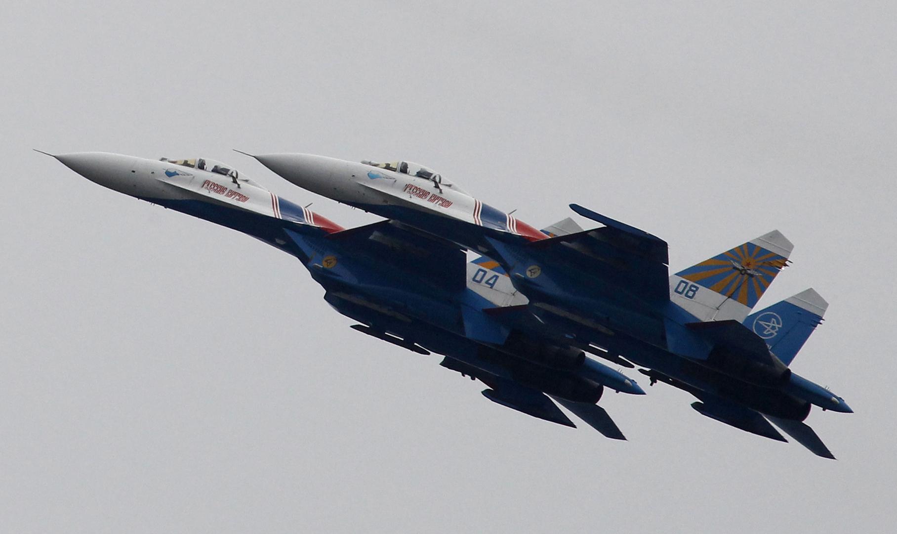 مقاتلات روسية تعترض طائرات تجسس أمريكية فوق مياه البحر الأسود