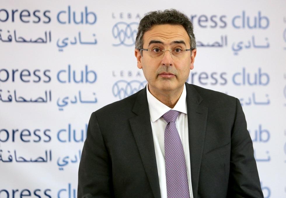 المدير العام السابق لوزارة المالية اللبنانية آلان بيفاني