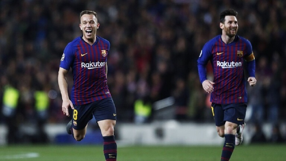 آرثر يعلق على رحيله عن برشلونة وانضمامه ليوفنتوس