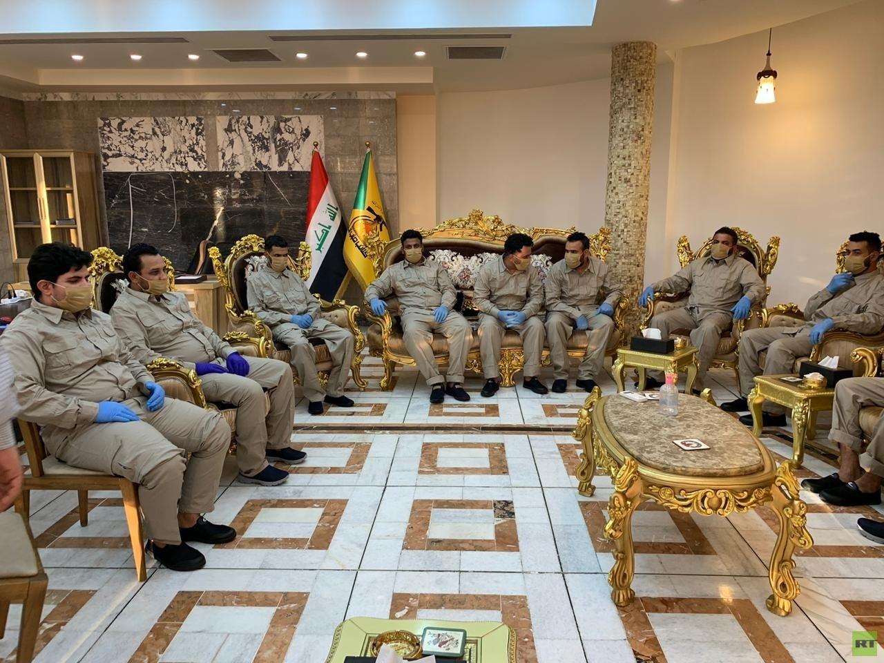 العراق.. إطلاق سراح عناصر