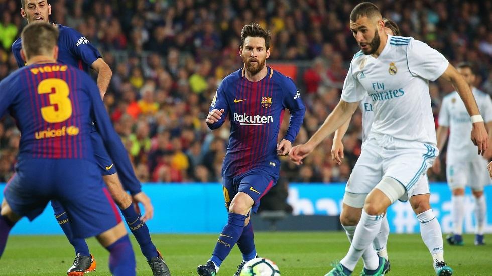 بنزيما يخلف ثنائي برشلونة بقائمة الأهداف