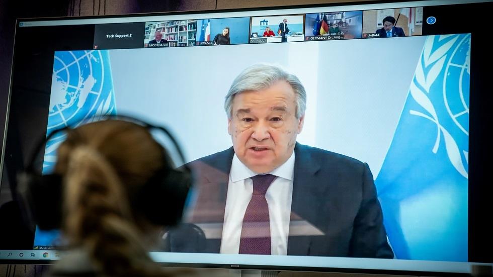 غوتيريش يشجع مصر وإثيوبيا والسودان على التوصل لاتفاق بخصوص سد النهضة