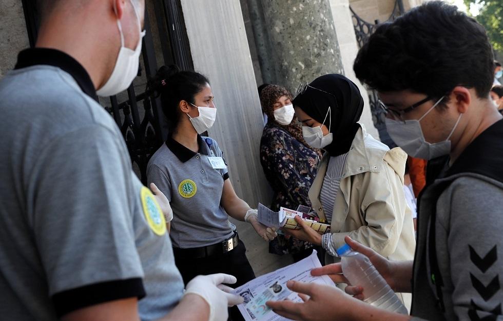 تركيا تسجل 16 وفاة و1293 إصابة جديدة بفيروس كورونا