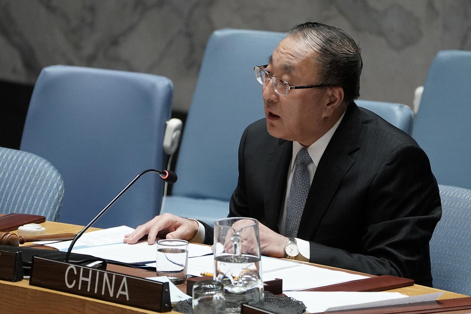 المندوب الصيني الدائم لدى الأمم المتحدة، تشانغ جون