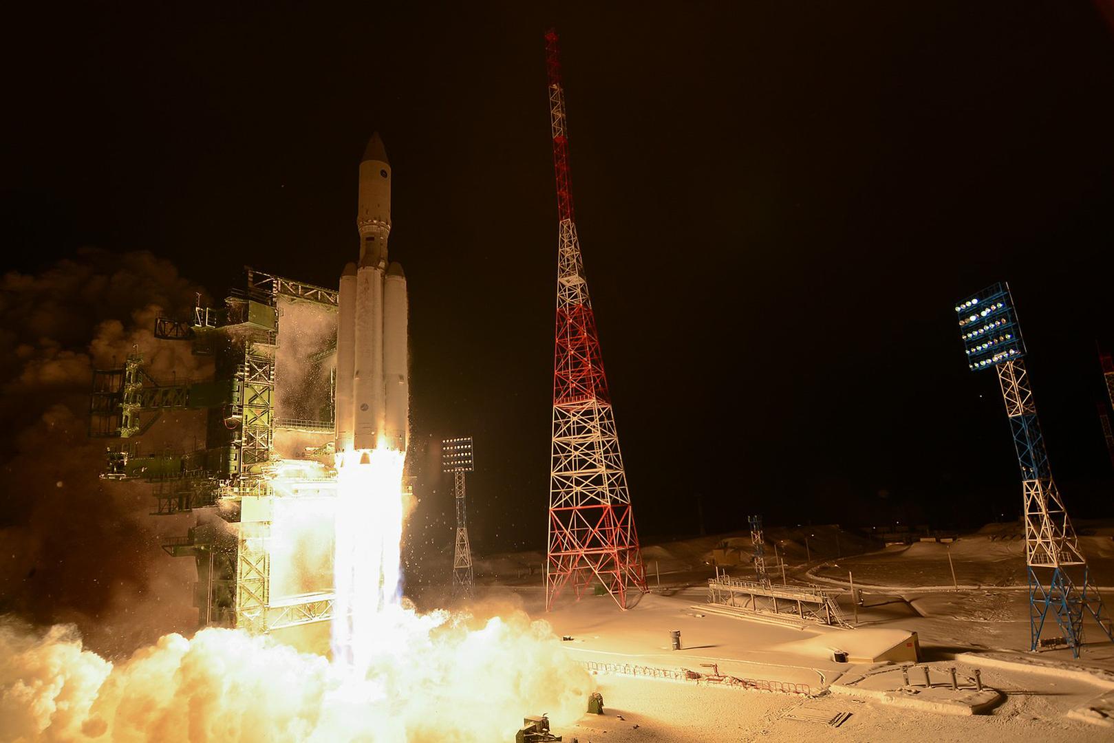 الوكالة الفضائية الروسية: توجه لتطوير صاروخ