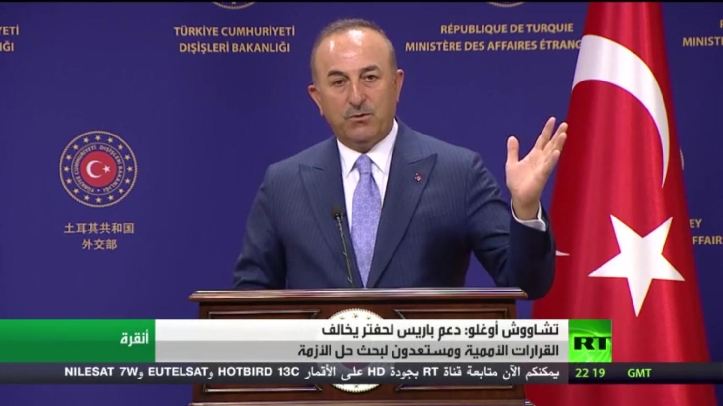 أنقرة: باريس تلعب دورا خطرا في ليبيا