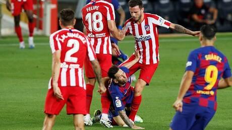 برشلونة يواصل نزيف النقاط بتعادل مخيب أمام أتلتيكو مدريد (فيديو)