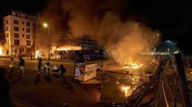 صدامات أمام البيت الأبيض وحظر تجول في مدن كبرى على خلفية حادثة مينيابوليس