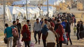 العراق.. مفوضية حقوق الإنسان تحذر من كارثة إنسانية في مخيم للنازحين بالسليمانية