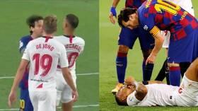 شاهد.. برشلونة يكشف سبب عدم طرد ميسي في مباراة إشبيلية 5ef05ea84c59b704ea16ed60
