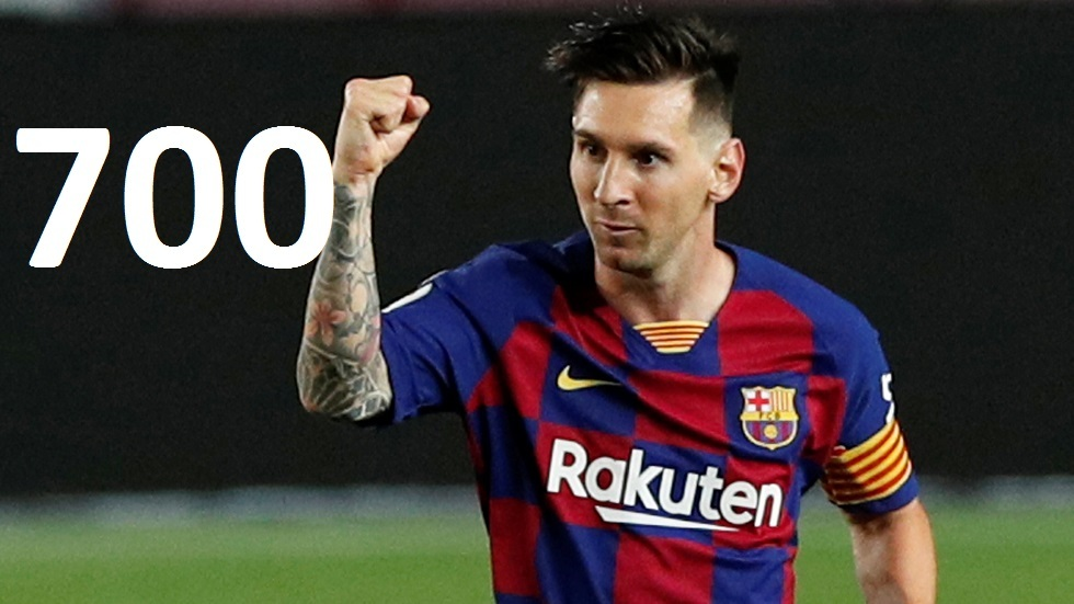 شاهد.. ميسي يصل للهدف 700 في مسيرته في ليلة ضياع برشلونة