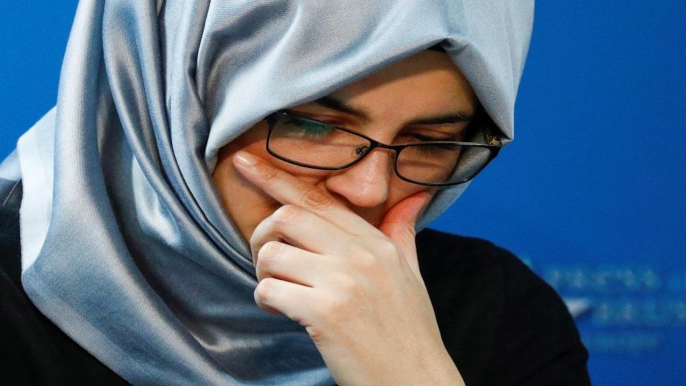 خطيبة خاشقجي تتحدث عن بدء محاكمة المتهمين بقتله غيابيا في اسطنبول