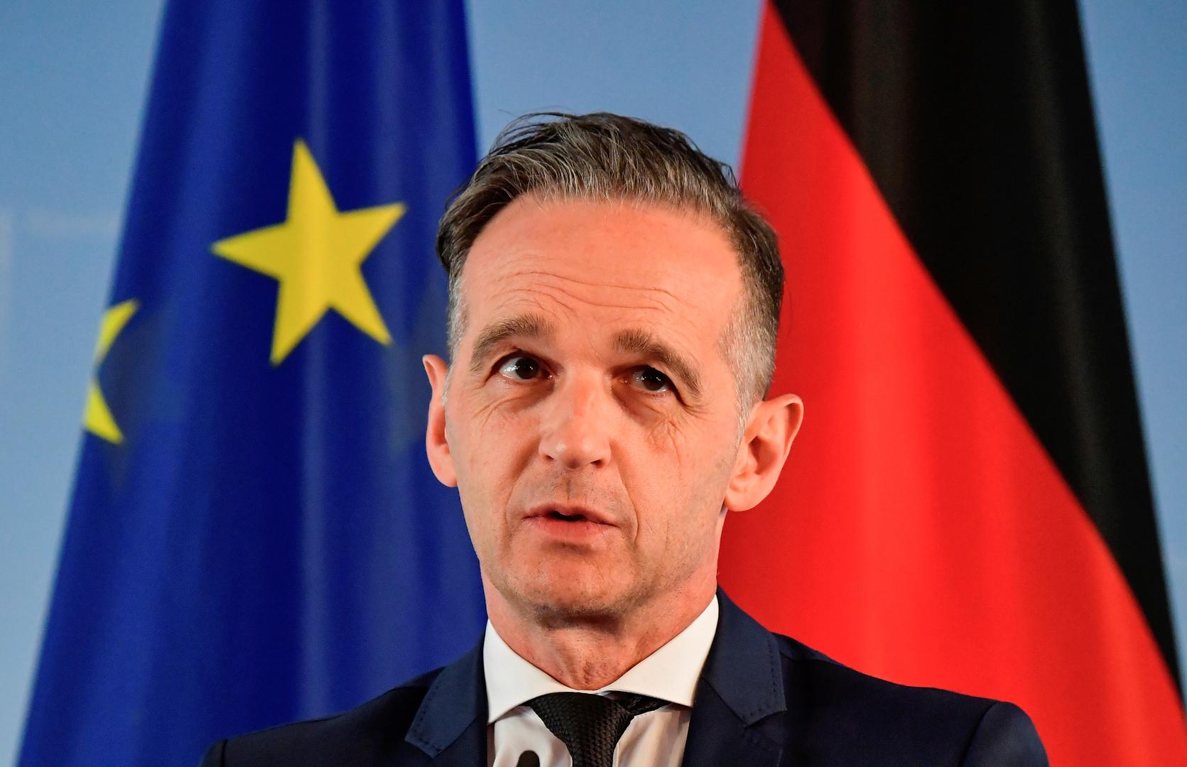 وزير الخارجية الألماني هايكو ماس
