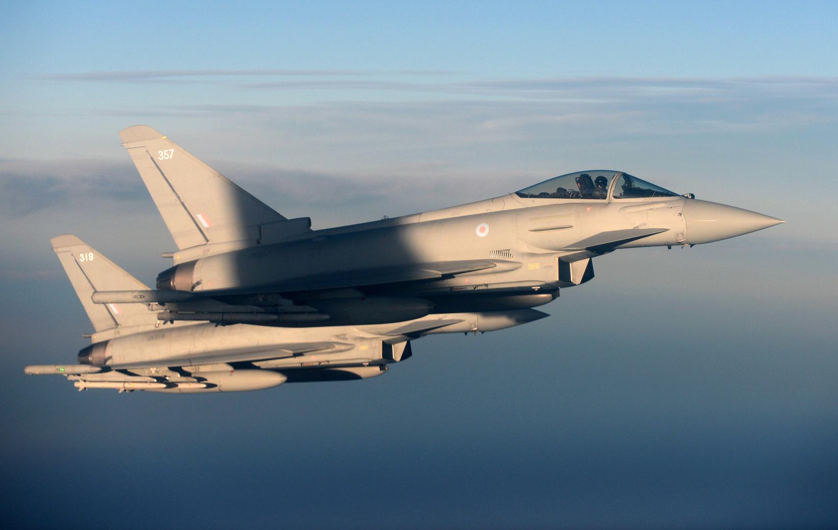 سلاح الجو البريطاني: اعتراض طائرة