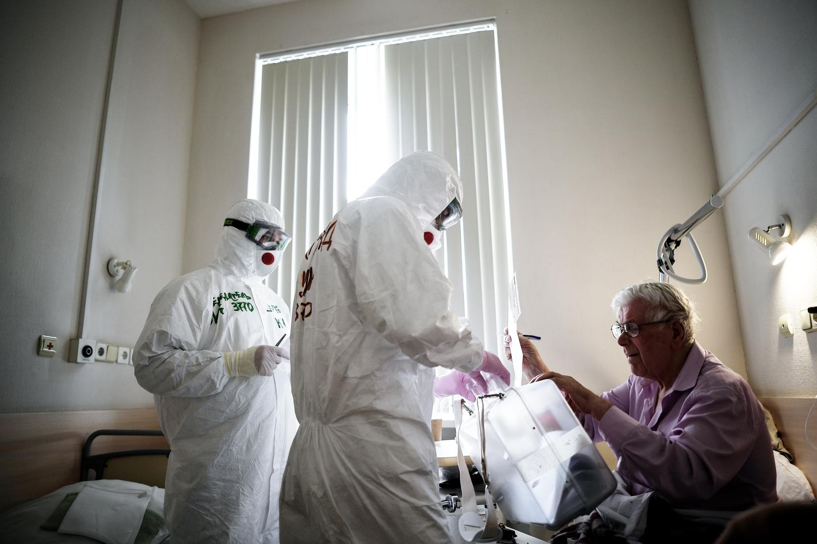 39 حالة وفاة جديدة بكورونا في موسكو
