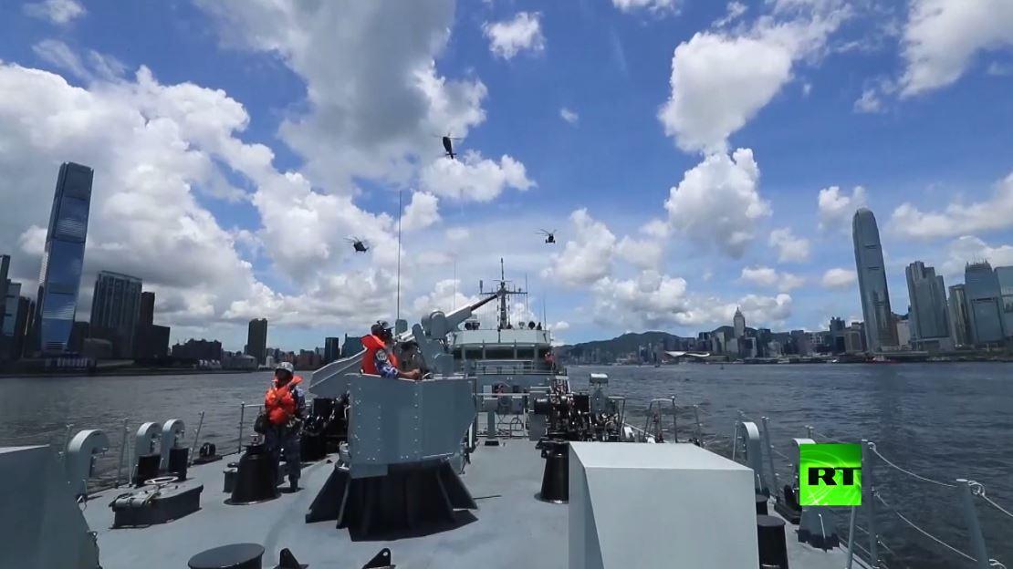 تدريبات عسكرية صينية في هونغ كونغ مع دخول قانون الأمن الجديد حيز التنفيذ
