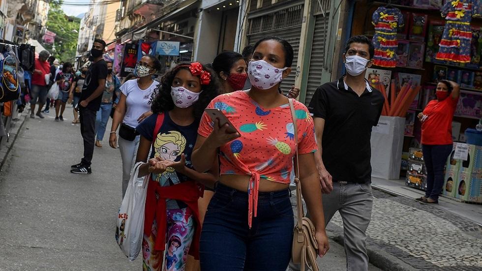 تفشي فيروس كورونا في البرازيل