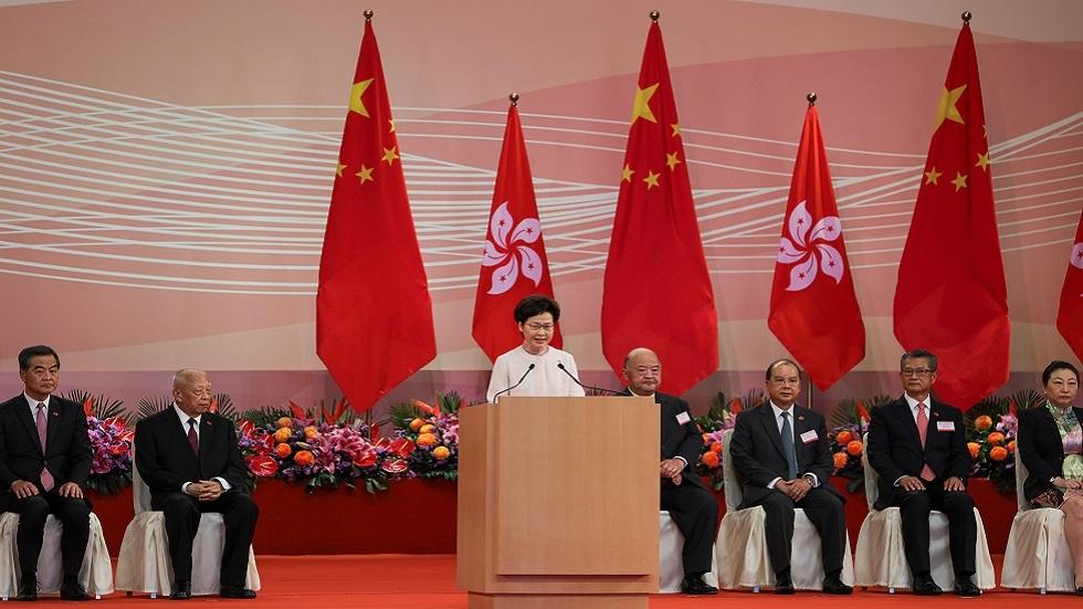مراسم الاحتفال الرسمية في هونغ كونغ بذكرى تسليم المدينة للصين