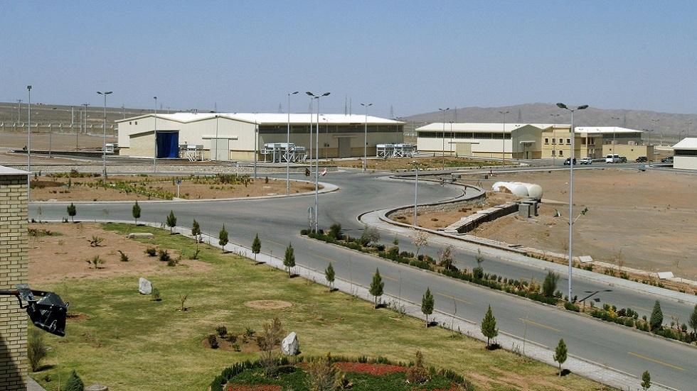 جانب من محطة نطنز النووية الإيرانية (صورة أرشيفية)
