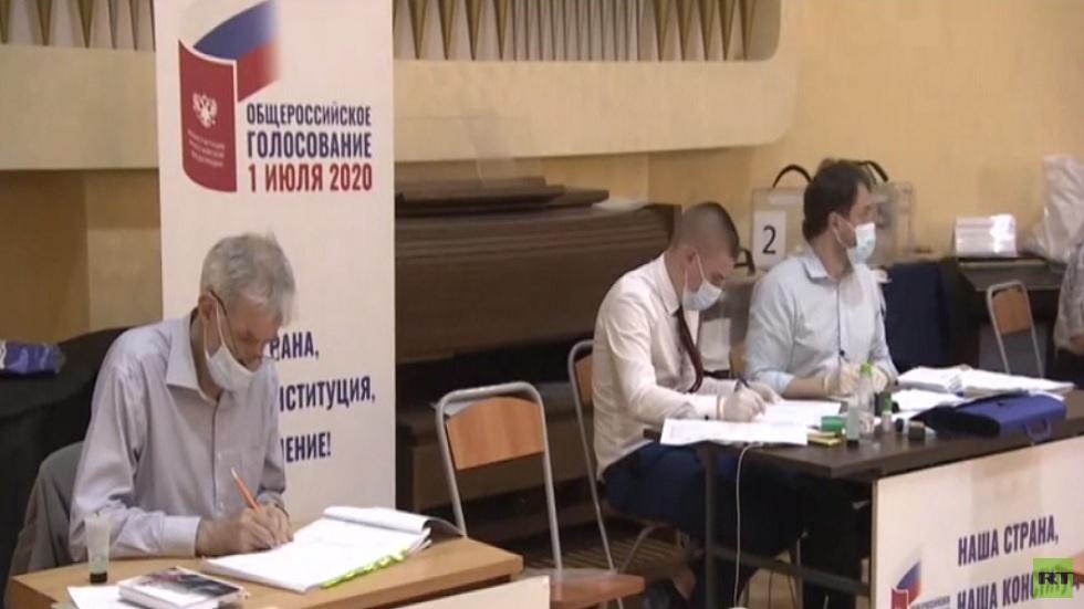 روسيا.. تأييد تعديلات الدستور بغالبية 77.92%