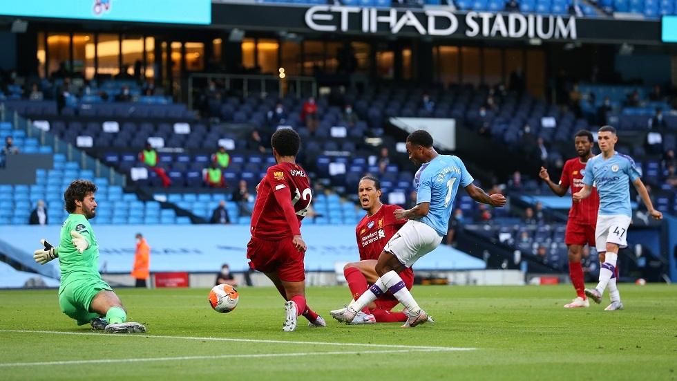 مانشستر سيتي يقسو على ليفربول برباعية ويعكر عليه الفرحة بلقب