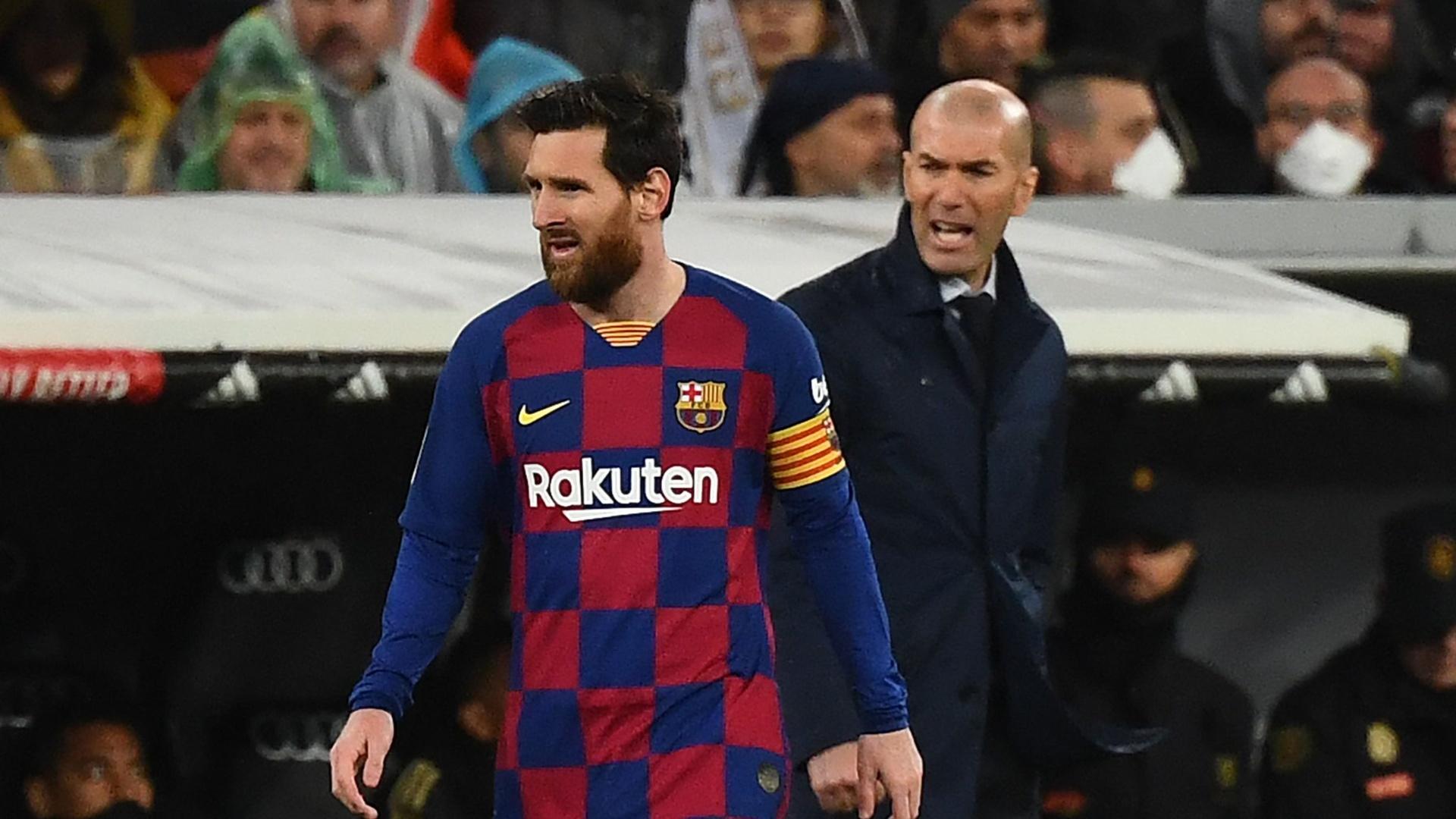 زيدان عن نية ميسي الرحيل عن برشلونة: نريد أن يكون لدينا أفضل اللاعبين