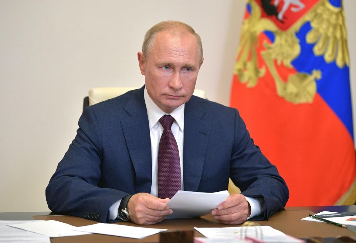 بوتين يصدر مرسوما بنشر نص الدستور المعدل