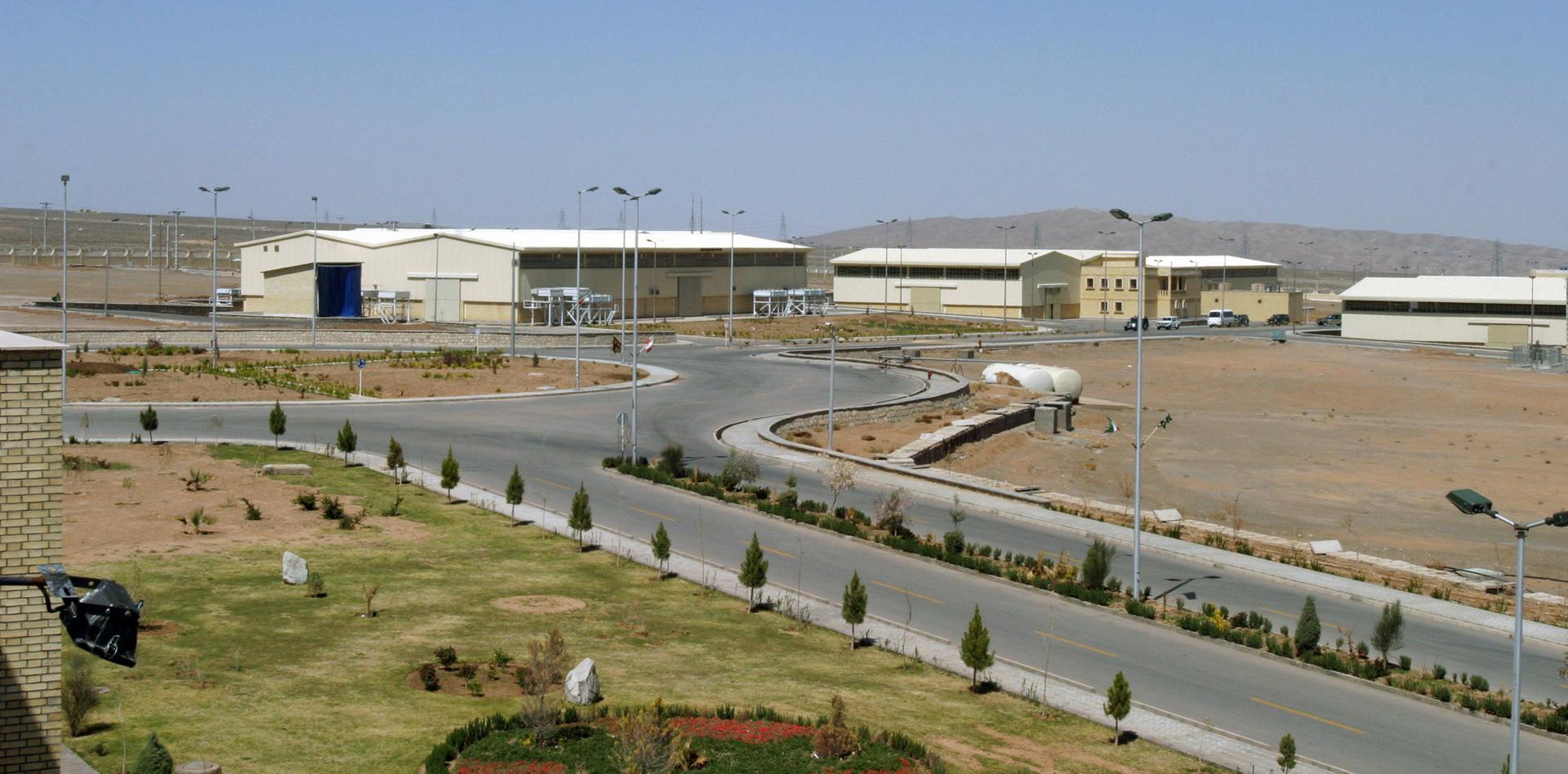 منشأة نطنز النووية في إيران (أرشيف)