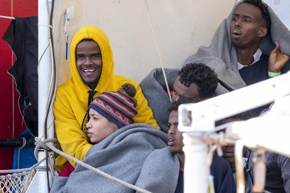 مهاجرون غير نظاميين في إيطاليا