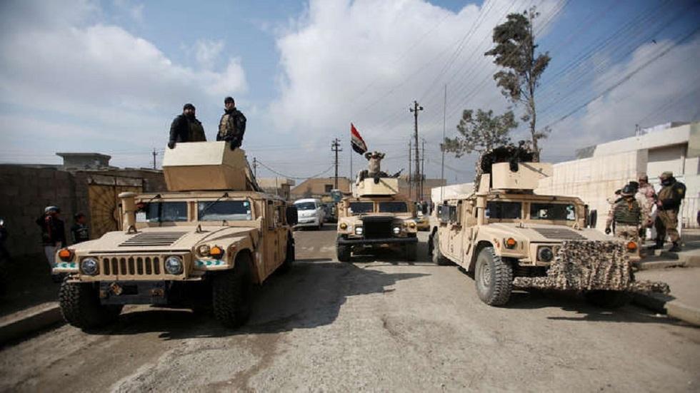 القوات الأمنية العراقية في محافظة الأنبار غربي العراق - أرشيف