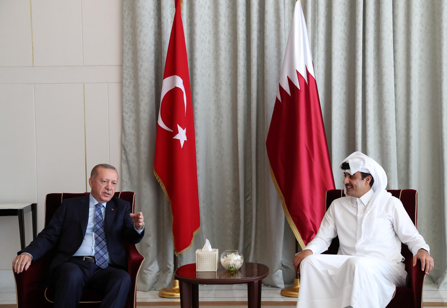 قطر تشيد بتعزيز علاقاتها مع تركيا وتؤكد توافق الرؤى في الملف الليبي