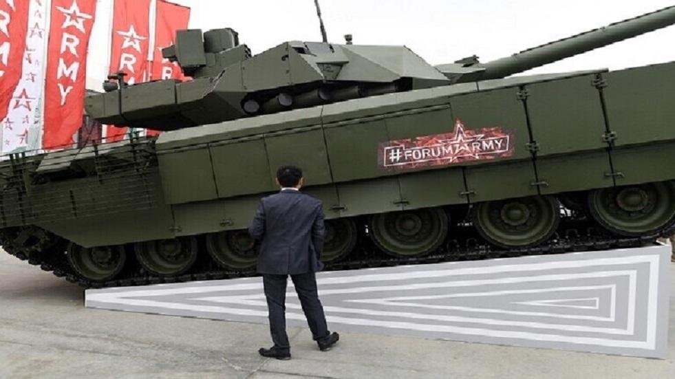روسيا تختبر دبابة مسيرة دون طاقم