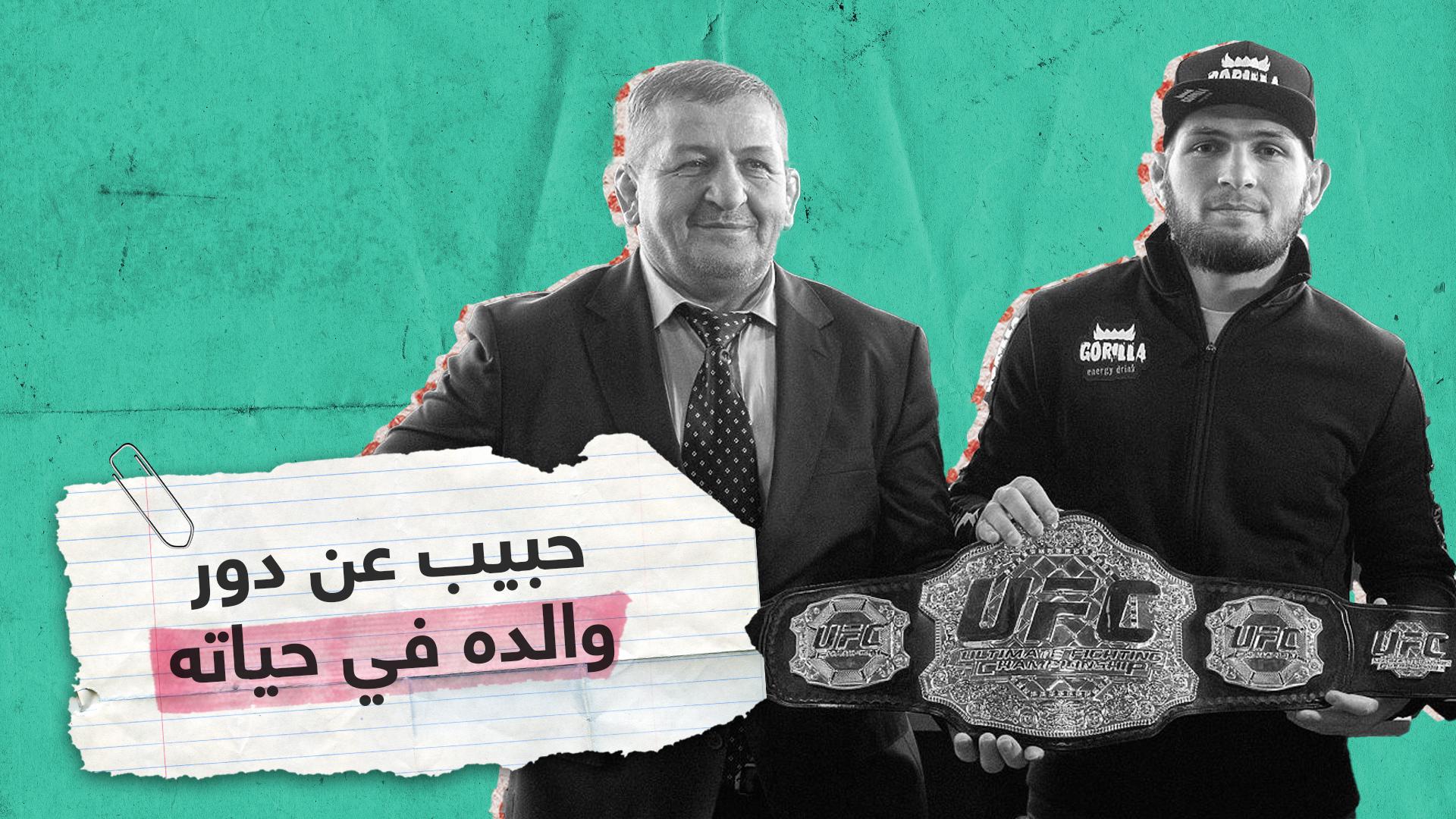 حبيب نور محمدوف يتحدث عن دور والده في حياته