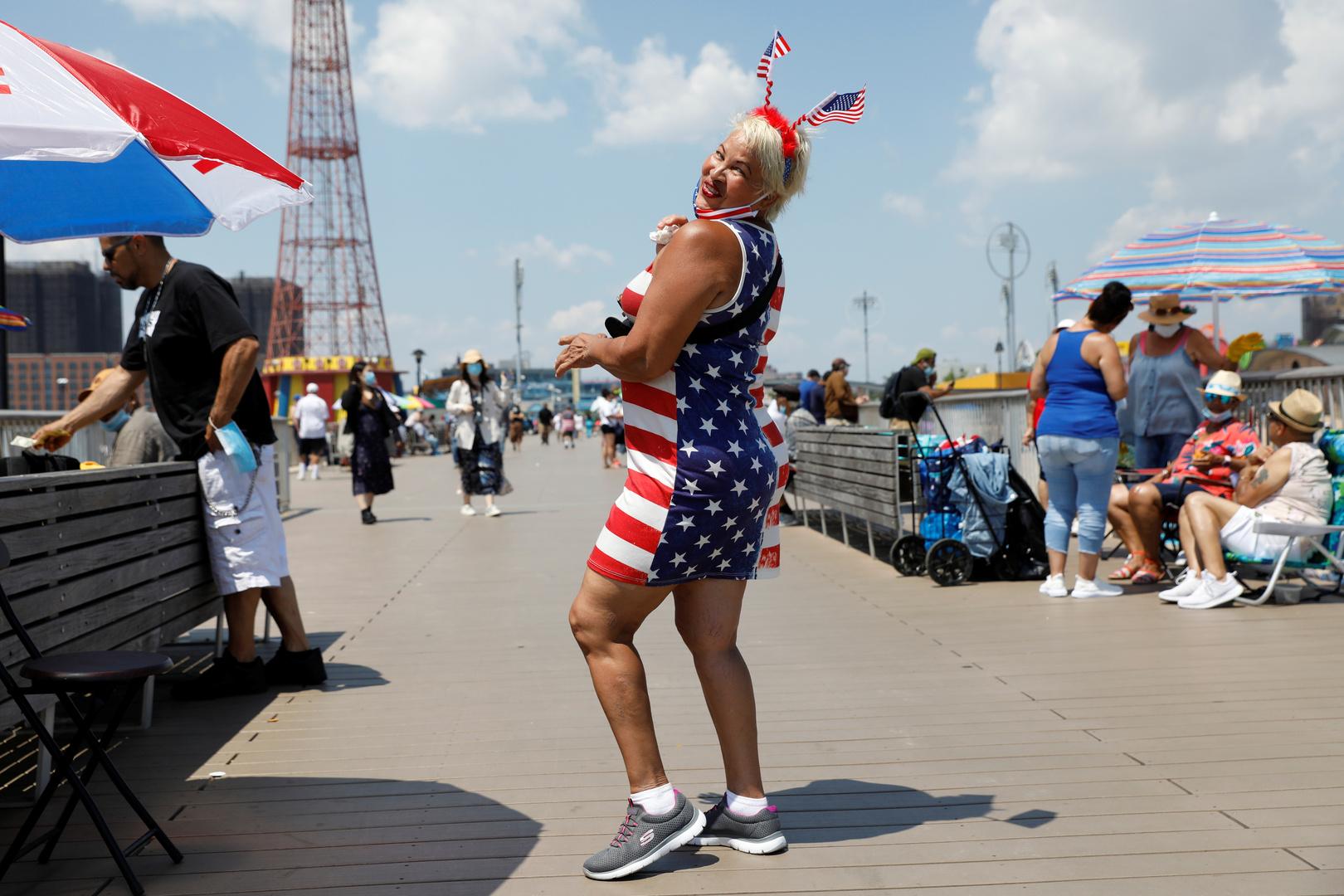 احتفالات بعيد الاستقلال في نيويورك