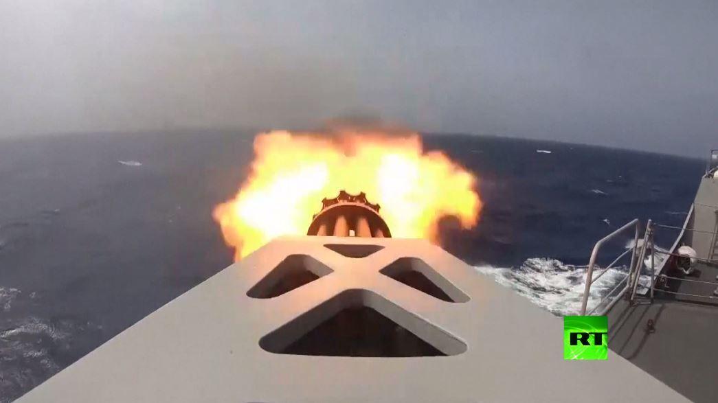 مناورات الجيش الصيني في خليج عدن
