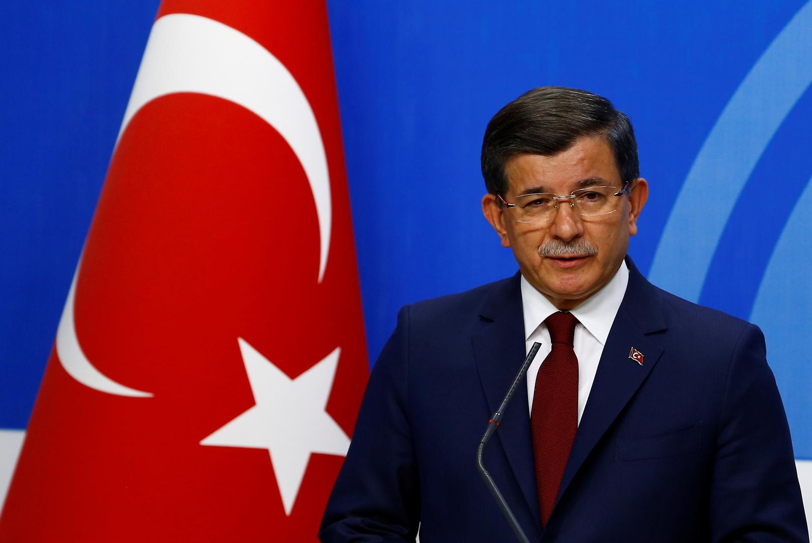 أحمد داود أوغلو، رئيس وزراء تركيا الأسبق ورئيس حزب