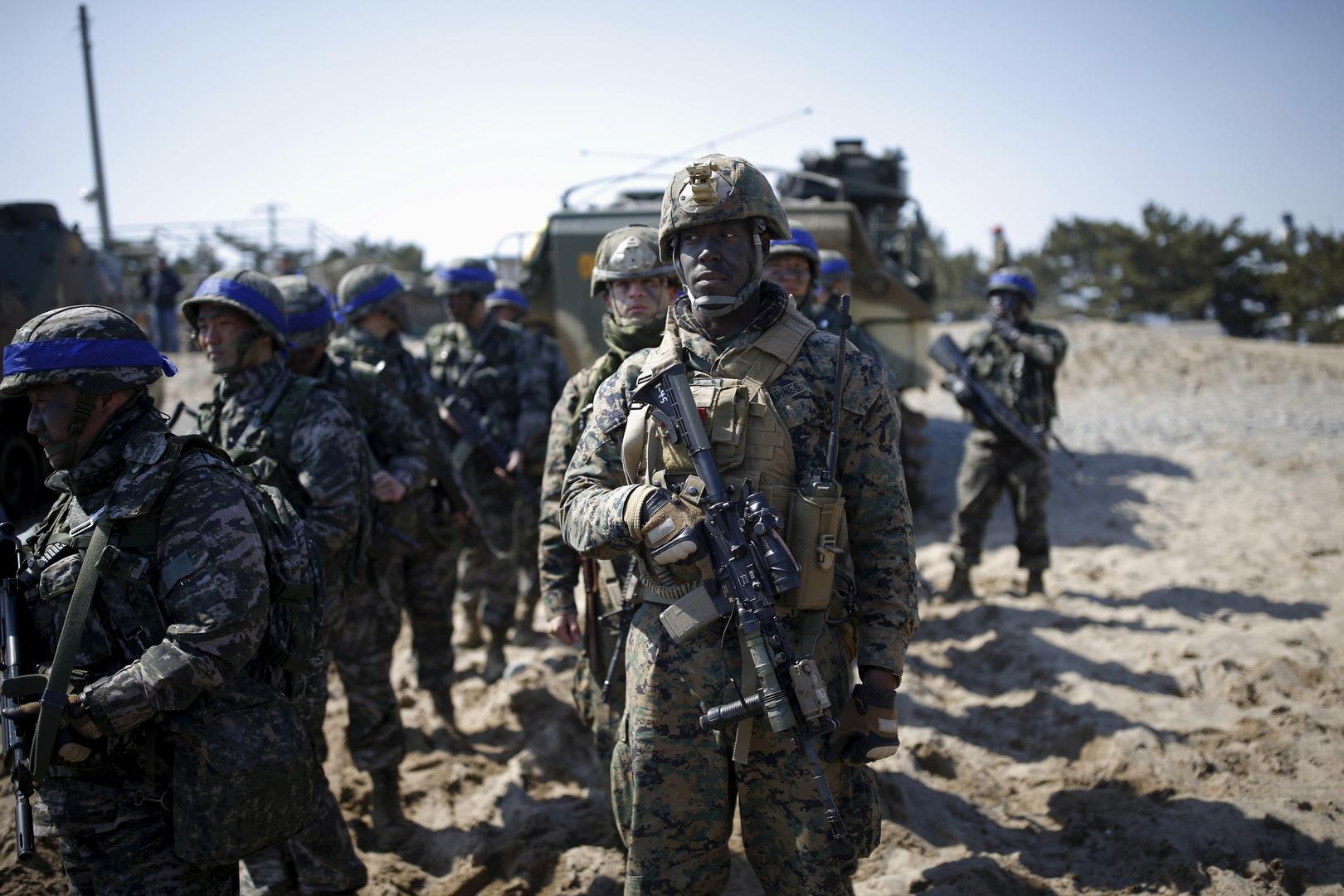 جنود أمريكيون في كوريا الجنوبية (أرشيف).