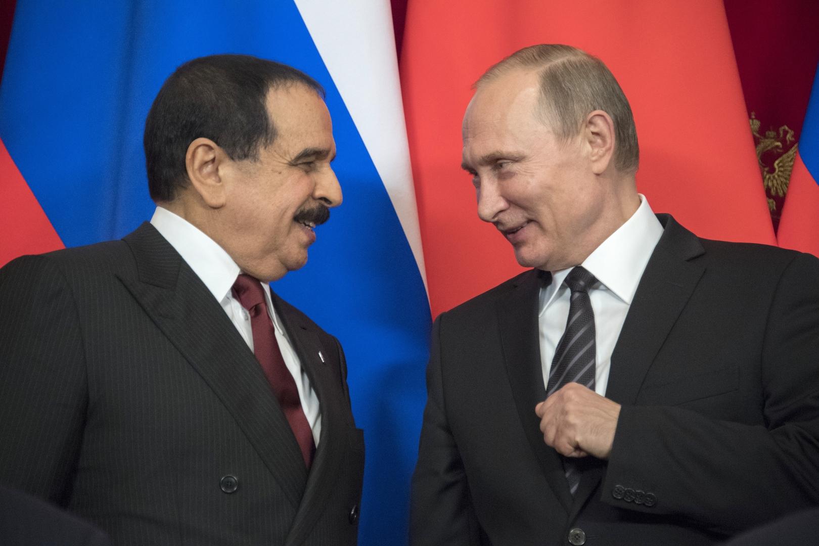الكرملين: بوتين والعاهل البحريني يبحثان هاتفيا مكافحة فيروس كورونا وتسوية الأزمة السورية
