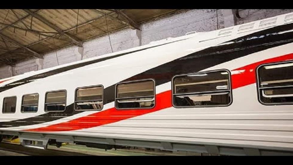 مصر: عربات القطار الروسية المكيفة تدخل البلاد لأول مرة في تاريخها