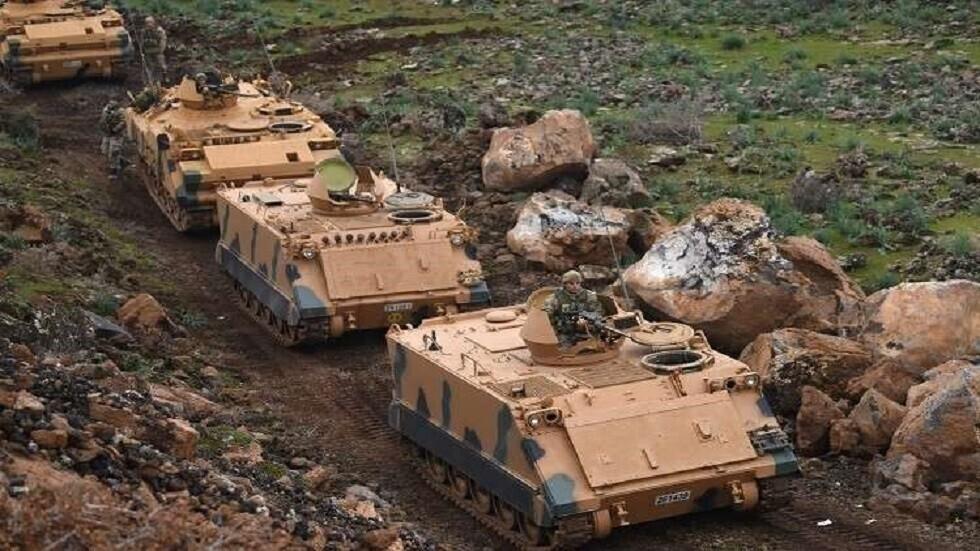 الجيش التركي ينفذ عملية إنزال لآلياته في شمال العراق
