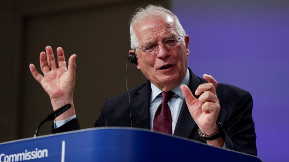 الممثل الأعلى للسياسة الخارجية والأمنية في الاتحاد الأوروبي جوزيب بوريل (صورة أرشيفية)