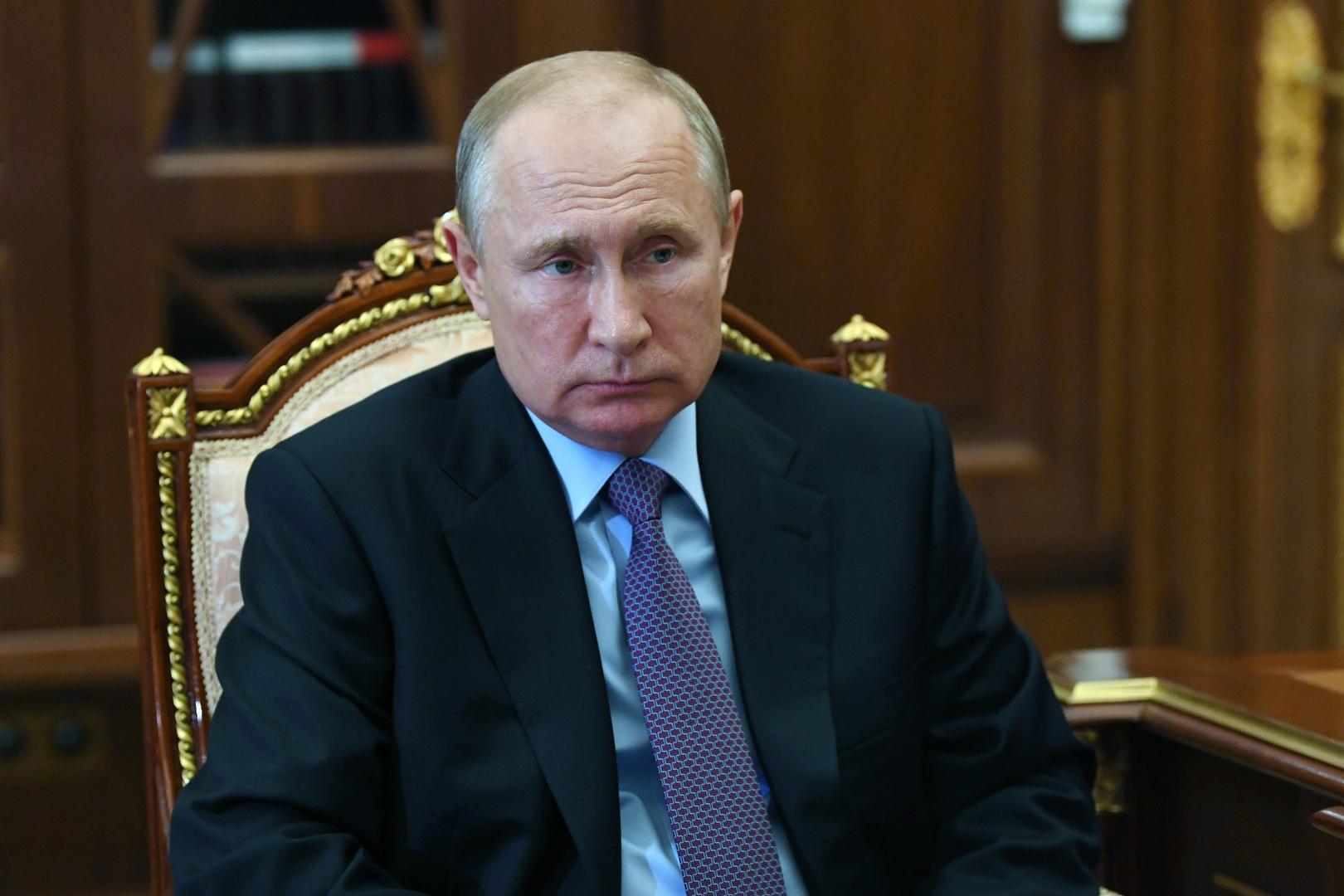 بوتين يعزي نظيره الصيني بضحايا الفيضانات