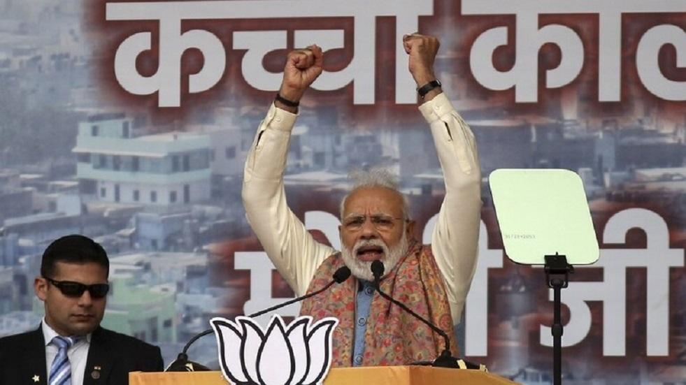 رئيس وزراء الهند ناريندرا مودي