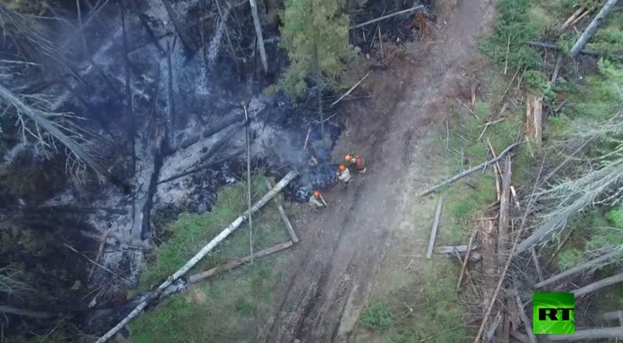 موجة حر تتسبب بحرائق في غابات سيبيريا