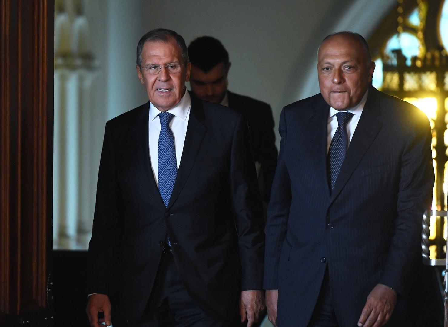 وزير الخارجية الروسي: عرضنا على مصر وإثيوبيا والسودان المساعدة الفنية بخصوص أزمة سد النهضة
