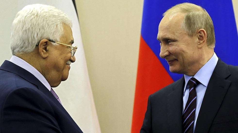 بوتين يبحث مع عباس ملفات التسوية الشرق أوسطية