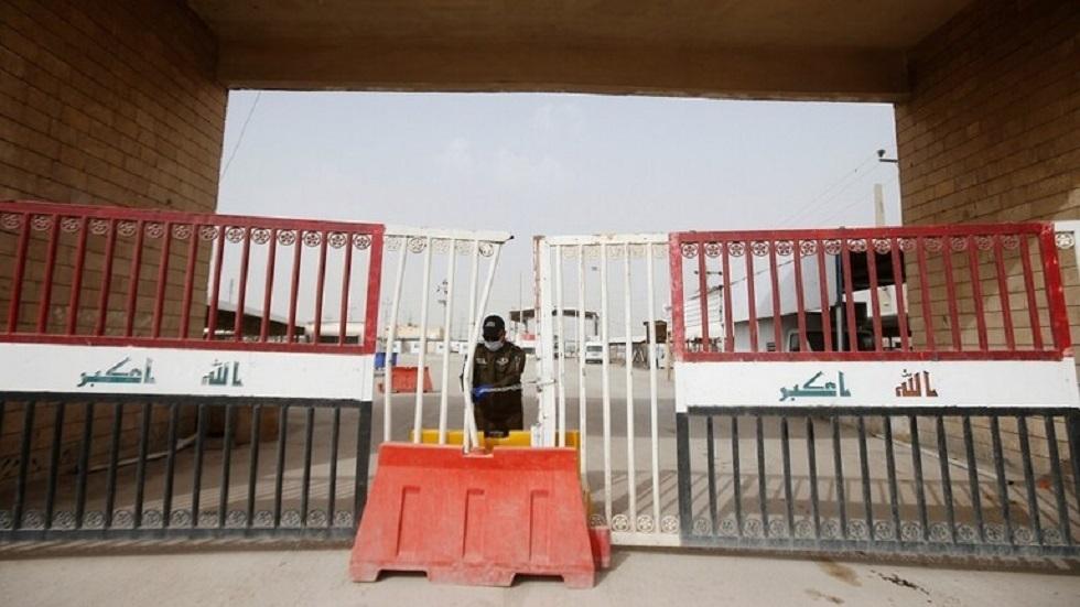 معبر الشلامجة الحدودي في العراق - أرشيف