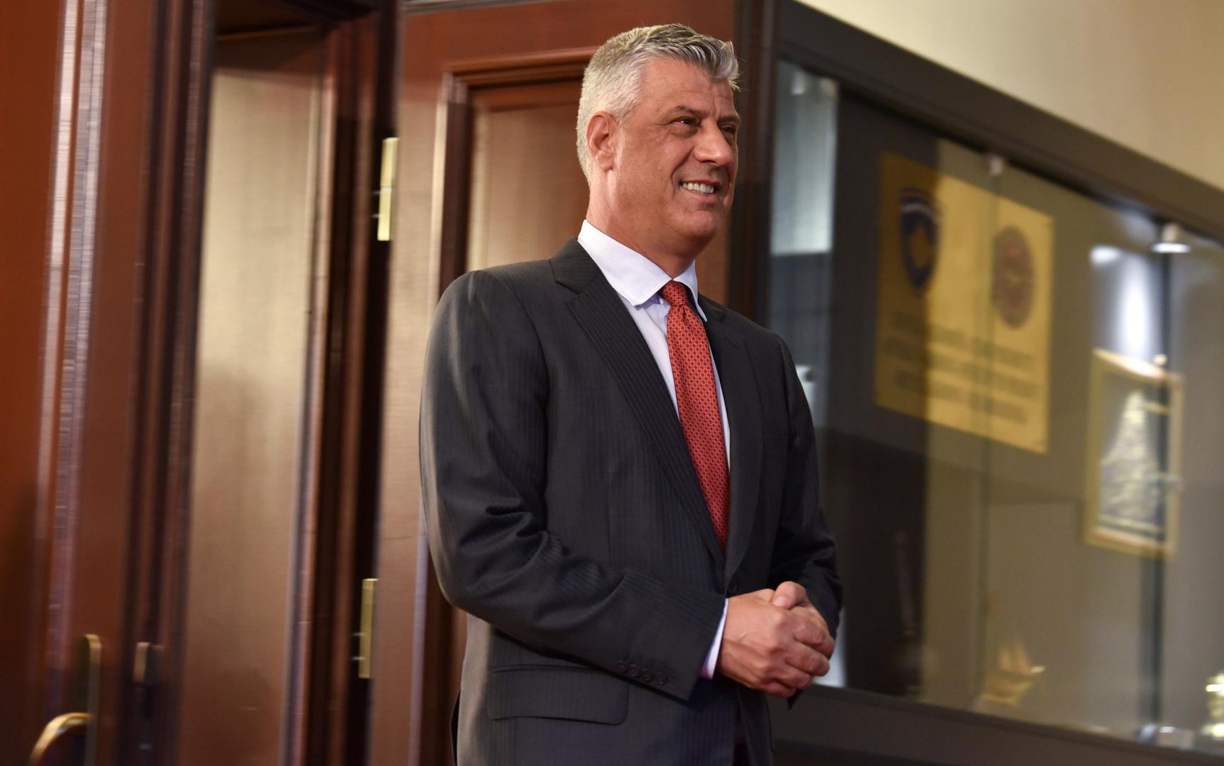 رئيس كوسوفو يتوجه إلى لاهاي للرد على اتهامات بجرائم حرب