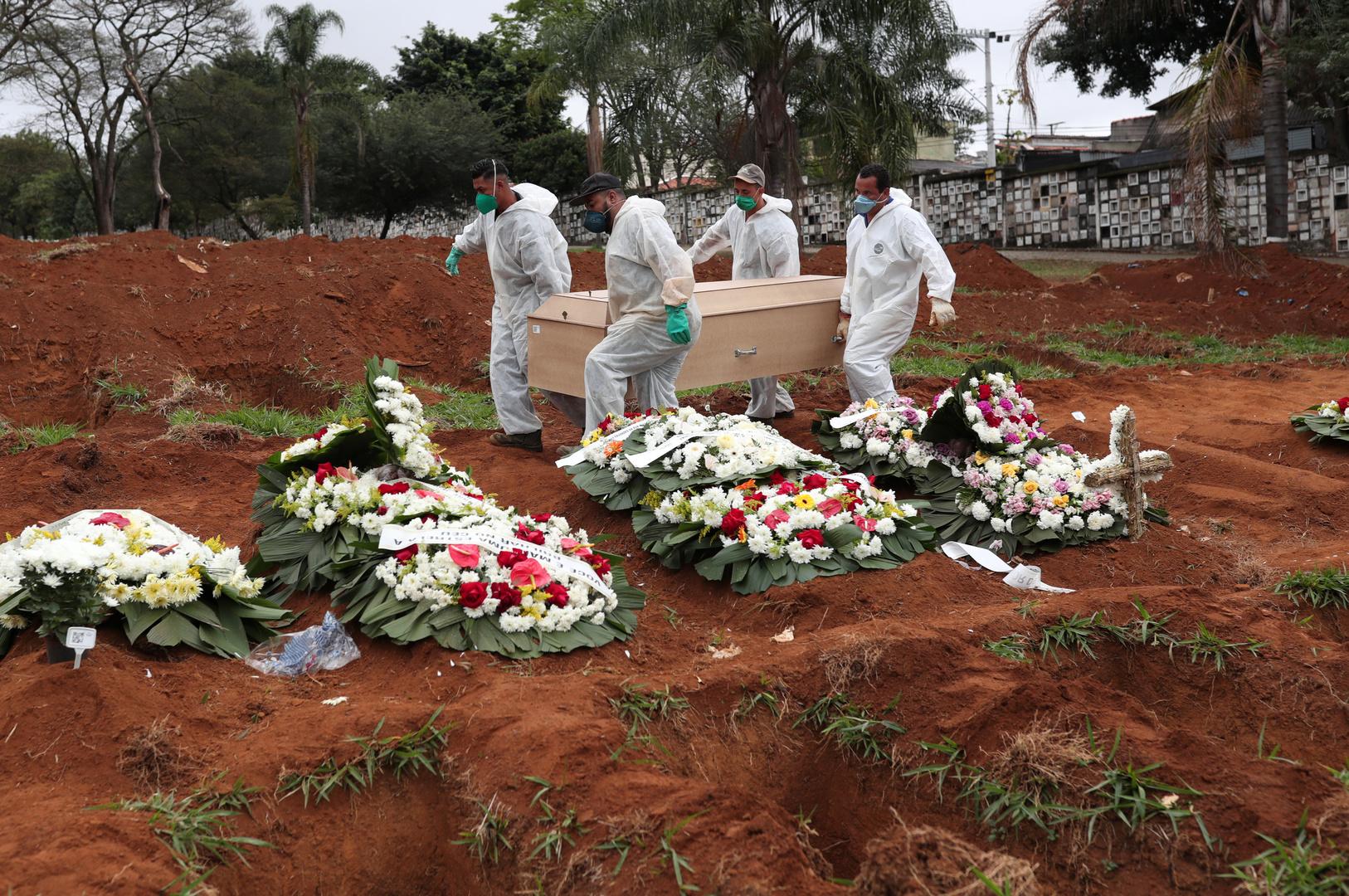 ارتفاع ضحايا كورونا إلى نحو 550 ألف وفاة وأكثر من 12 مليون مصاب حول العالم