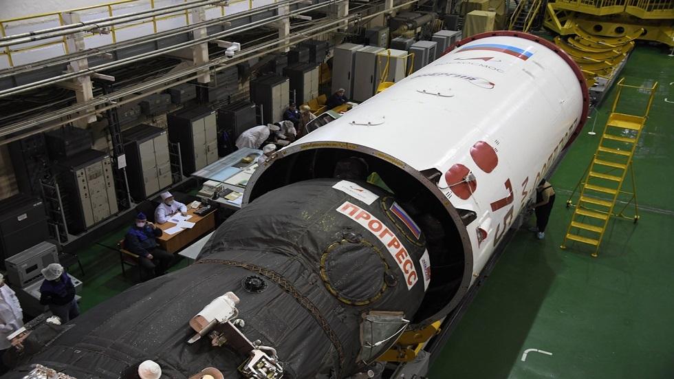 شاحنة فضائية روسية تغرق في المحيط الهادئ